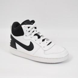 Nike Court Borough Mid GS - 839977101