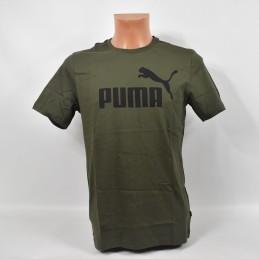 Koszulka Puma ESS Logo Tee Forest Night - 853400 15