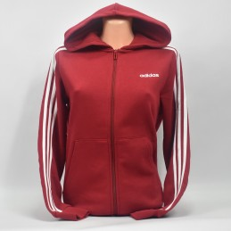 Bluza Adidas z kapturem Essentials 3-Stripes - EI7995