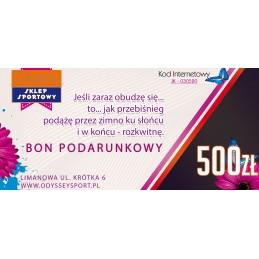 Bon Podarunkowy z dedykacją - 500zł