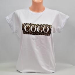 Damska biała bluzka Coco - 8992