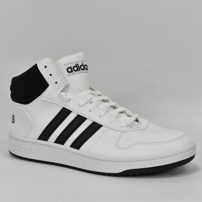 Męskie buty sportowe Adidas Hoops 2.0 MID - BB7208 - 1