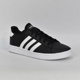 Buty młodzieżowe sportowe Adidas Grand Tour Court - EF0102 - 1