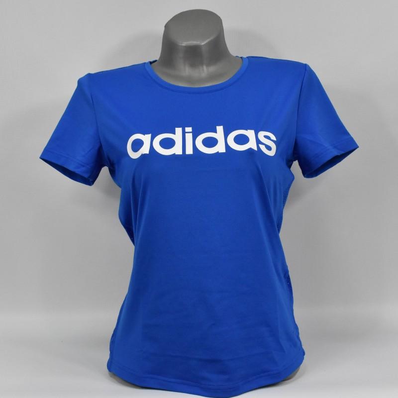 Koszulka damska Adidas D2M Logo Tee - FL9230 - 1
