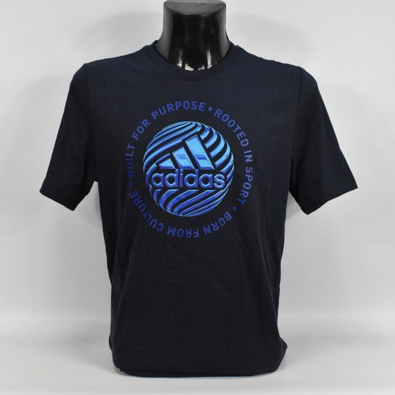 Koszulka męska Adidas Hyperreal Circled Slogan Tee - GD5885 - 1