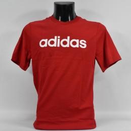 Koszulka młodzieżowa Adidas YB E Lin Tee - FS9587 - 1
