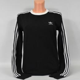 Bluza damska Adidas 3 Stripes LS Tee - DV2608 - 1