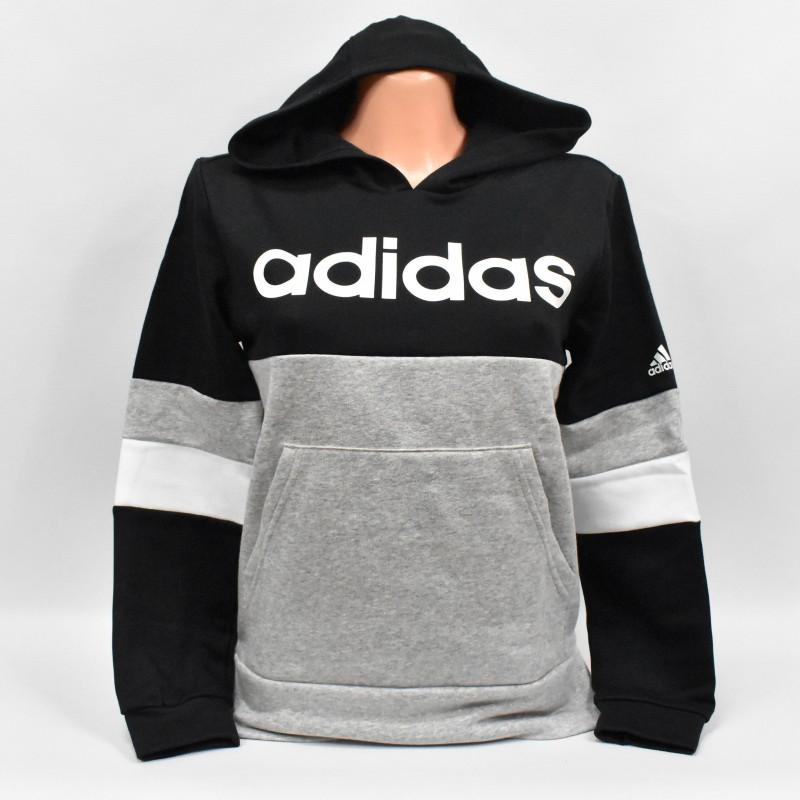 Bluza młodzieżowa Adidas YB Lin CB - GD6324 - 1