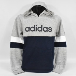 Bluza młodzieżowa Adidas Linear Colorbock Hooded Fleece - GD6323 - 1