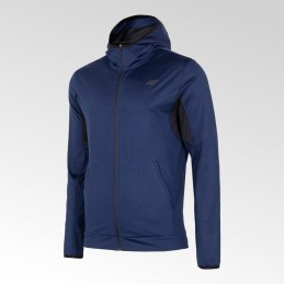 Bluza męska z kapturem 4F - NOSH4-BLMF001 30M - 1