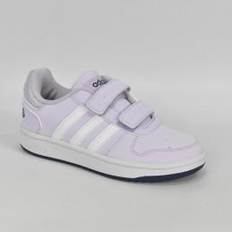 Buty młodzieżowe damskie Adidas Hoops 2.0 CMF C - EG3771 - 1