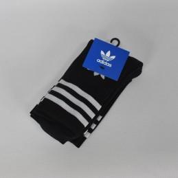 Skarpetki czarne Adidas Mid Cut Crew - DX9092 - 1