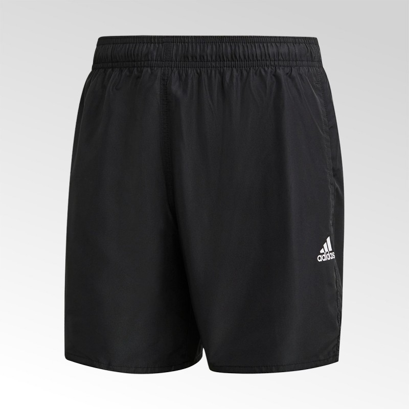 Spodenki męskie kąpielowe Adidas CLX Solid Swim Shorts - FJ3379 - 1