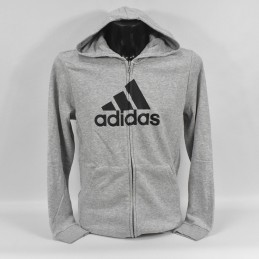 Bluza młodzieżowa Adidas B MH BOS FZ HD - GE0648 - 1