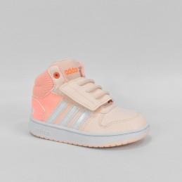 Buty dziecięce Adidas Hoops Mid 2.0 L - FW4924 - 1