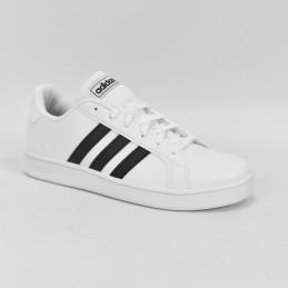 Buty młodzieżowe Adidas Grand Court K - EF0103 - 1