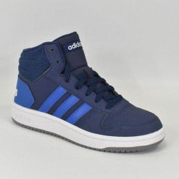 Buty młodzieżowe Adidas Hoops 2.0 K - EE6707 - 1