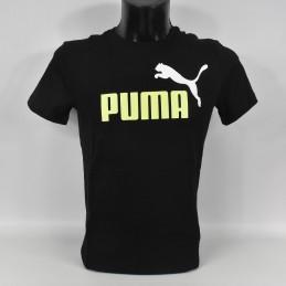 Koszulka męska Puma Essentials 2 Col Logo Tee - 583230 01 - 1