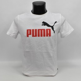 Koszulka męska Puma Essentials 2 Col Logo Tee - 583230 02 - 1