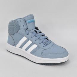 Buty młodzieżowe Adidas Hoops Mid 2.0 K - FW3158 - 1