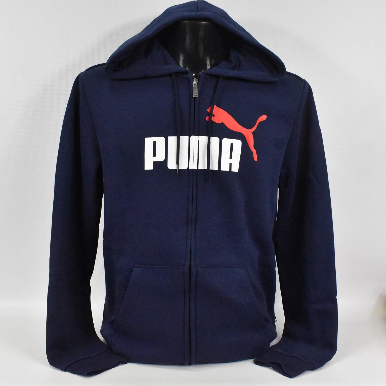 Bluza męska Puma ESS Hoody FL Big Logo - 583715 06 - 1