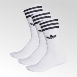 Skarpetki białe Adidas Mid Cut Crew - DX9091
