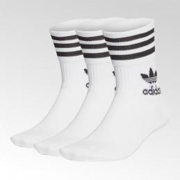 Skarpetki białe Adidas Mid Cut Crew - GD3575