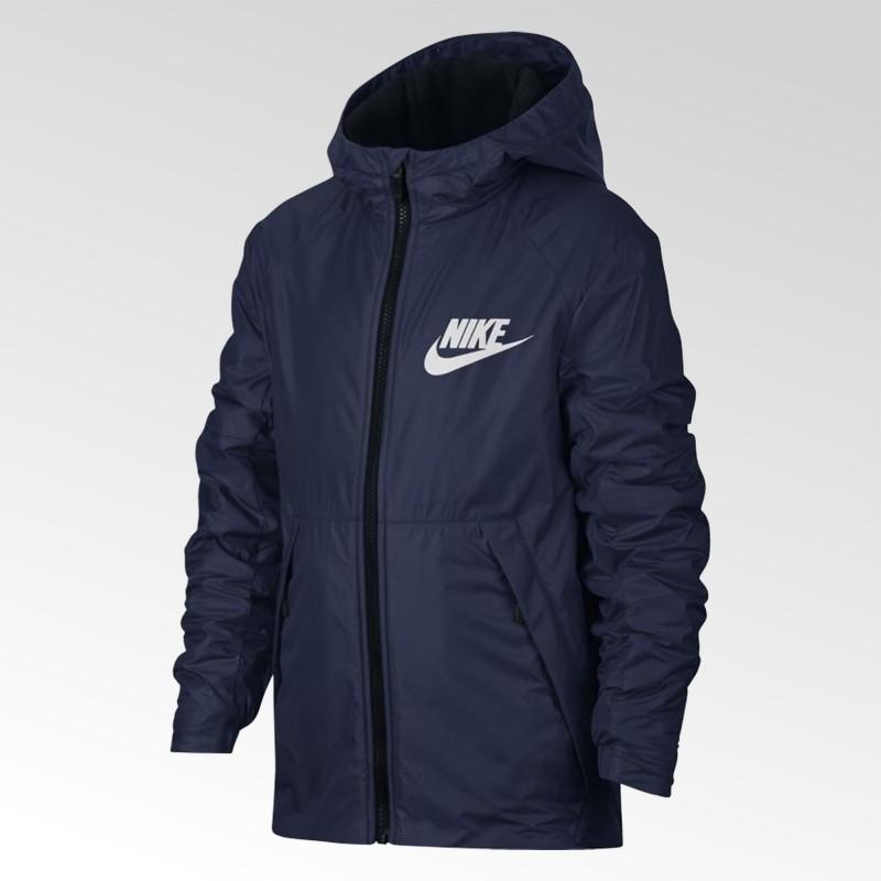 Kurtka młodziezowa Nike Sportswear Lined Fleece - 856195 429