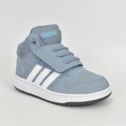 Buty dziecięce Adidas Hoops Mid 2.0 L - FW4922