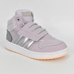 Buty dziecięce Adidas Hoops Mid 2.0 L - EE9602