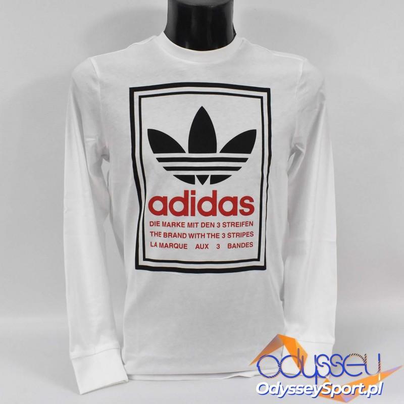 Koszulka młodzieżowa Adidas Graphic LS - GD2818