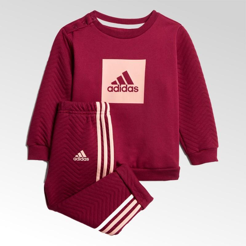 Dres dziecięcy Adidas Warm Crew Jogger Set - GD9999