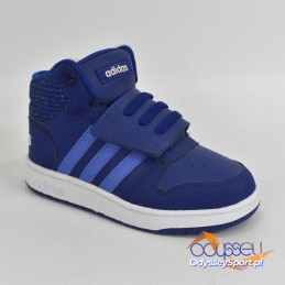 Buty dziecięce Adidas Hoops Mid 2.0 I - B75951