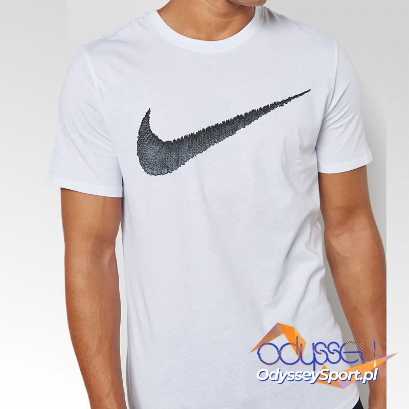 Koszulka męska Nike M NSW Tee Hangtag Swoosh - 707456-100