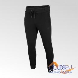 Spodnie dresowe męskie 4F głęboka czerń - NOSH4 SPMD002 20S
