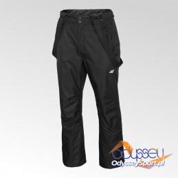 Spodnie narciarskie męskie 4F głęboka czerń - H4Z20-SPMN001-20S