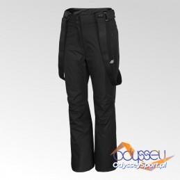Spodnie narciarskie damskie 4F głęboka czerń - H4Z20-SPDN001-20S