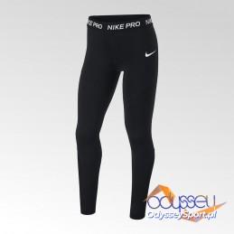 Legginsy młodzieżowe Nike Pro Women's Tights - AQ9042-010