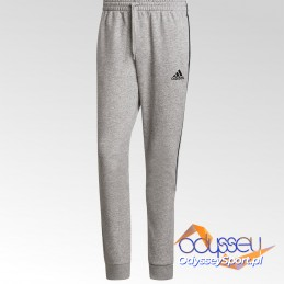 Spodnie dresowe męskie Adidas Essentials Tapered Cuff szare -