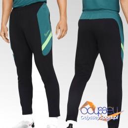 Spodnie dresowe męskie Nike Dri-Fit Academy czarno-zielone -
