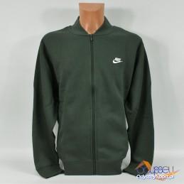 Kurtka męska Nike Sportswear Club Bomber zielona - BV2686-337
