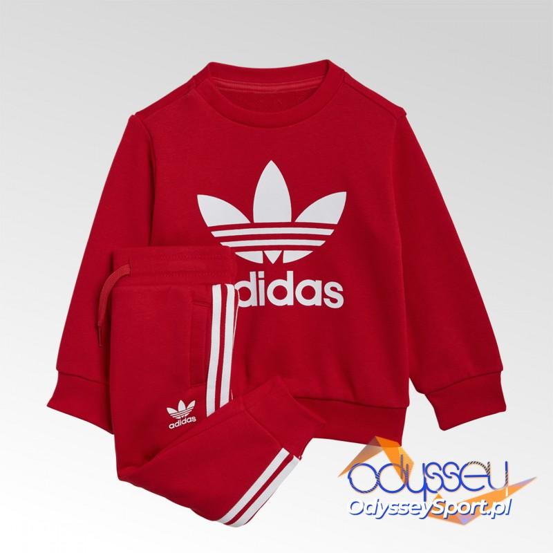 Dres dziecięcy Adidas Crew Sweatshirt Set - GN8195