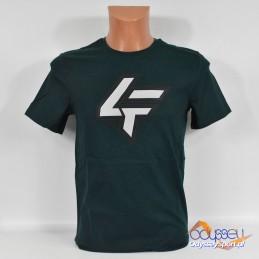 Koszulka męska 4F ciemna zieleń - H4L21-TSM028 30S