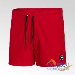 Szorty plażowe męskie 4F czerwony - H4L21-SKMT001-62S