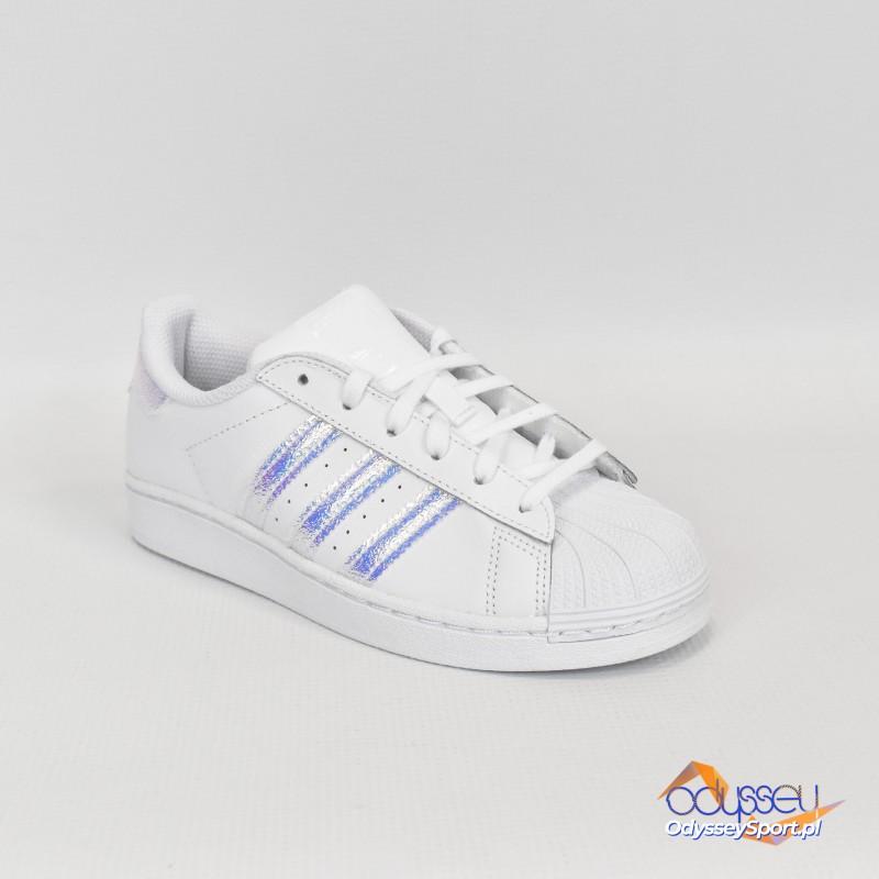 Buty młodzieżowe Adidas SuperStar C - FV3147