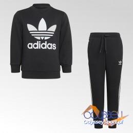Dres dziecięcy Adidas Crew Sweatshirt Set - H25250