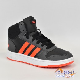 Buty młodzieżowe Adidas Hoops Mid 2.0 K - GZ7768