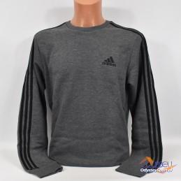 Bluza męska Adidas Essentials Fleece szara - H12166