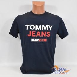 Koszulka męska Tommy Hilfiger TJM 1985 Logo - DM0DM07537 002