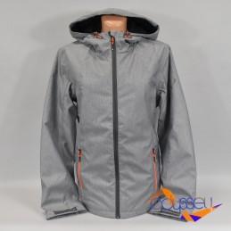 Kurtka narciarska damska Outhorn - HOZ18-KUDN600A 27M